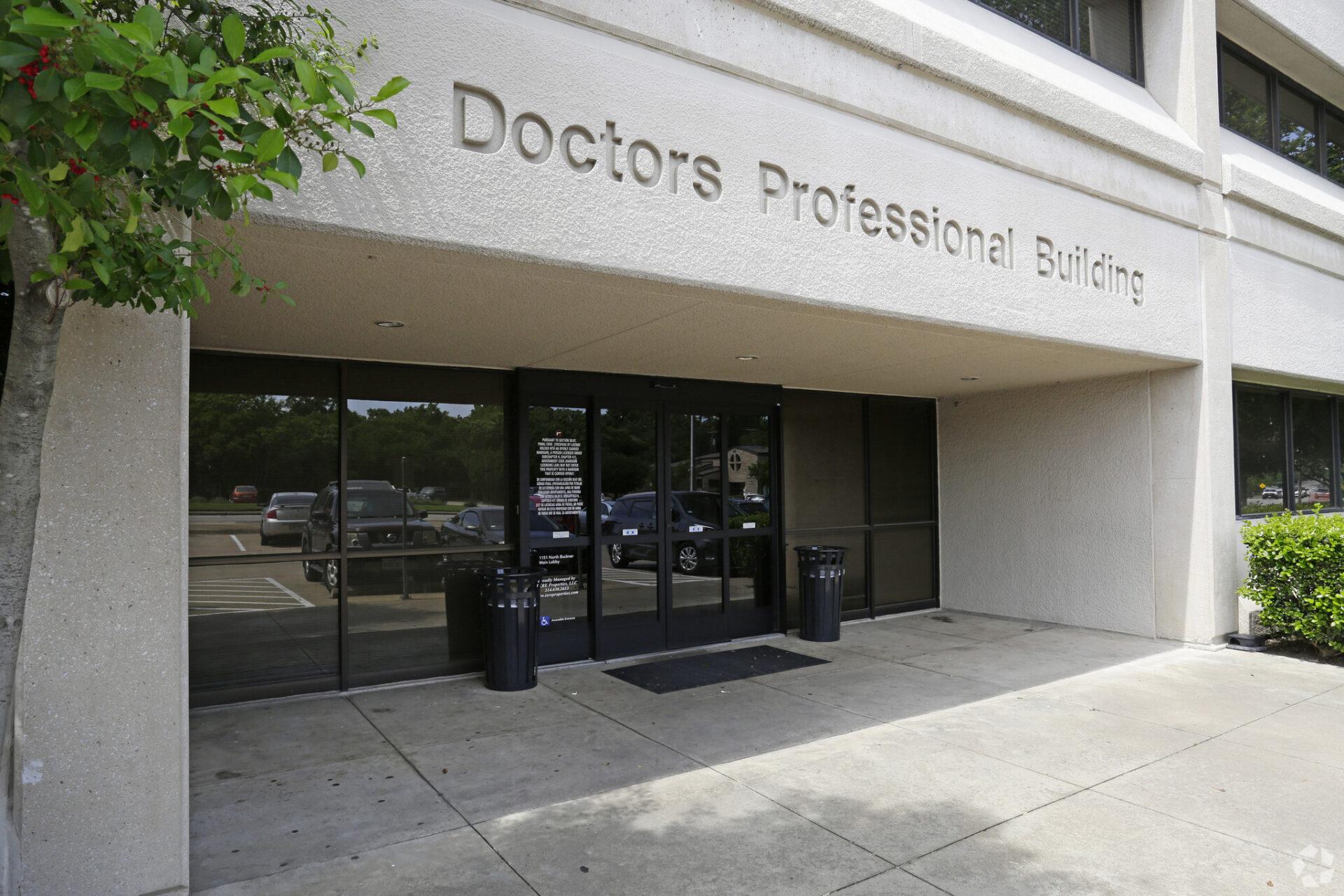 1151 No Buckner Professional Building I entrance
